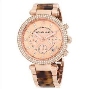 Michael Kors Women's Parker Chronograph Watch